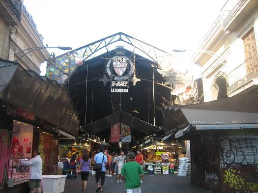 Barcelona's La Boqueria Image